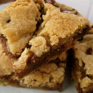 Lazy Chocolate Chip Cookie Bar